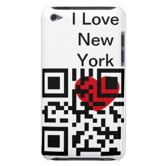 I Love New York - QR Code iPod Touch Case-Mate Case