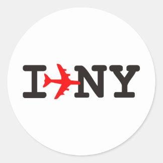 I love New York Stickers