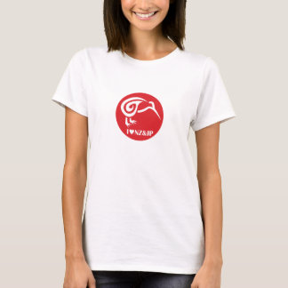I love New Zealand and Japan for Woman T-Shirt