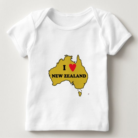 I Love New Zealand (Australia) Baby T-Shirt