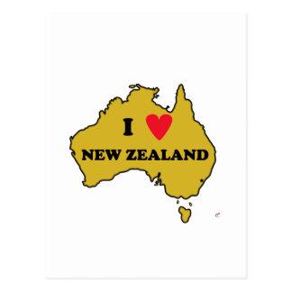 I Love New Zealand (Australia) Post Card