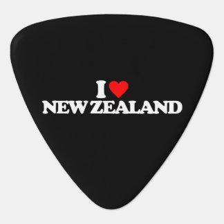 I LOVE NEW ZEALAND GUITAR PICK