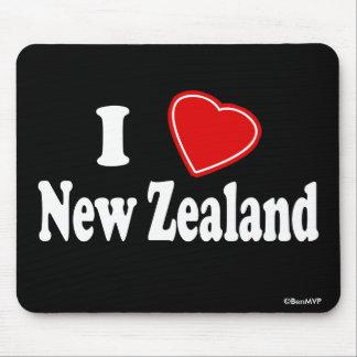 I Love New Zealand Mouse Pad