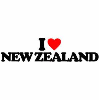I LOVE NEW ZEALAND ACRYLIC CUT OUT