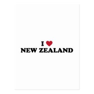I Love New Zealand Postcards