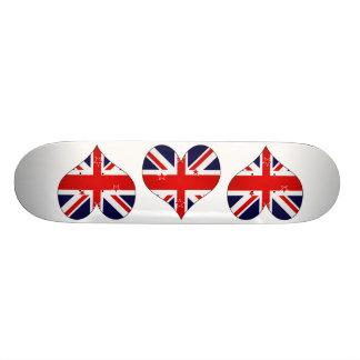 I Love New Zealand Skate Board