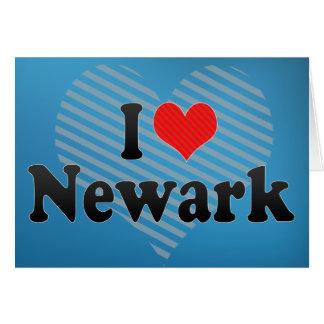 I Love Newark Card