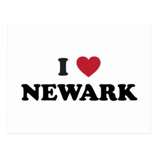 I Love Newark New Jersey Postcard