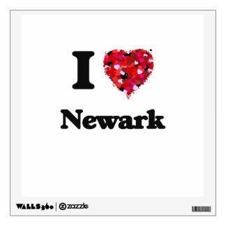 I love Newark New Jersey Room Graphics