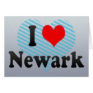 I Love Newark, United States Cards