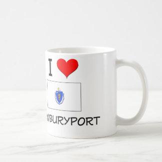 I Love Newburyport Massachusetts Coffee Mugs
