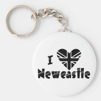 I love Newcastle Keychains
