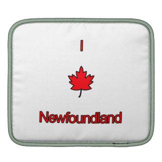 I Love Newfoundland iPad Sleeves