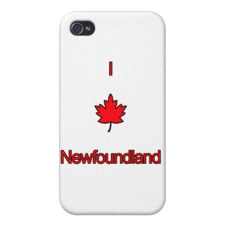 I Love Newfoundland iPhone 4 Cover