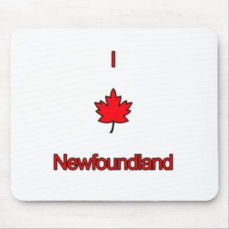 I Love Newfoundland Mouse Pad