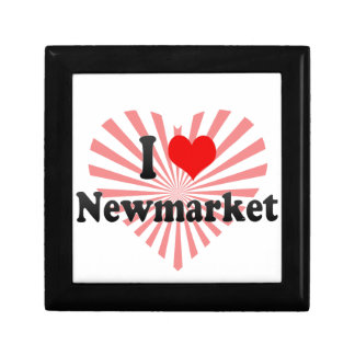 I Love Newmarket Canada Trinket Boxes