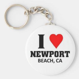 I love Newport Beach Key Chains