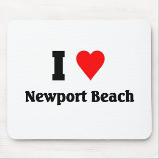 I love Newport Beach Mouse Pad