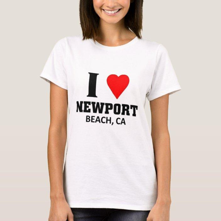I Love Heart Newport T-Shirt