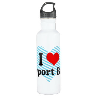 I Love Newport Beach, United States 24oz Water Bottle