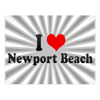 I Love Newport Beach, United States Postcard