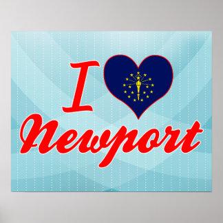 I Love Newport, Indiana Posters