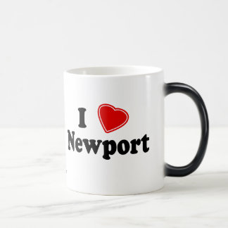 I Love Newport Magic Mug