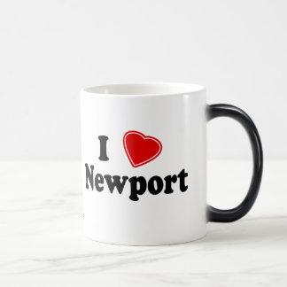 I Love Newport Mugs