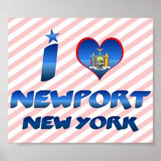 I love Newport, New York Posters