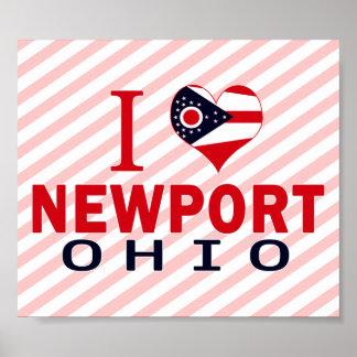 I love Newport, Ohio Posters
