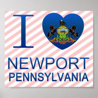 I Love Newport, PA Posters