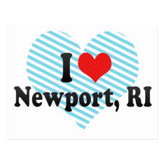 I Love Newport, RI Post Cards