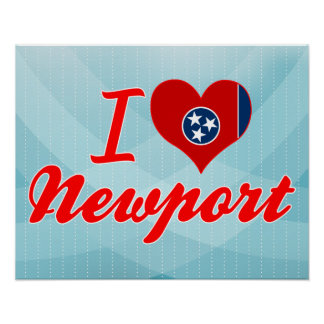 I Love Newport, Tennessee Poster