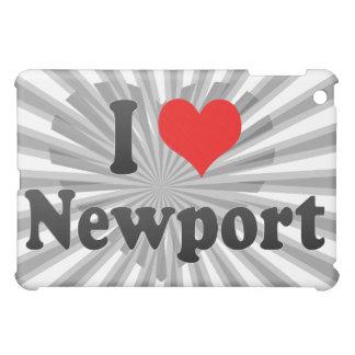 I Love Newport, United States Cover For The iPad Mini