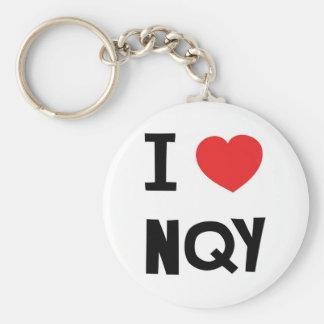 I love Newquay Keychain