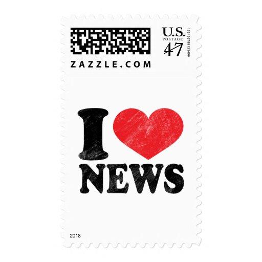 I Love News Postage