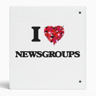 I Love Newsgroups Binders