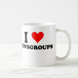 I Love Newsgroups Classic White Coffee Mug