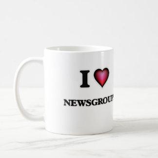 I Love Newsgroups Coffee Mug