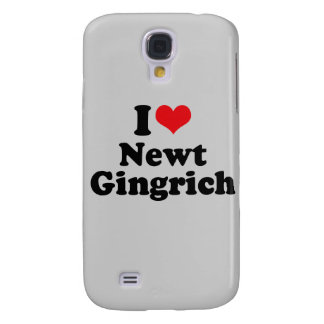 I LOVE NEWT GINGRICH GALAXY S4 COVER