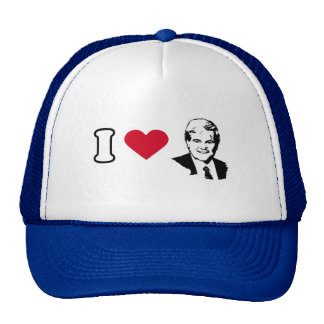 I Love Newt Gingrich Trucker Hat