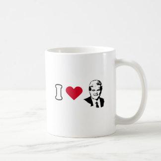 I Love Newt Gingrich Coffee Mugs