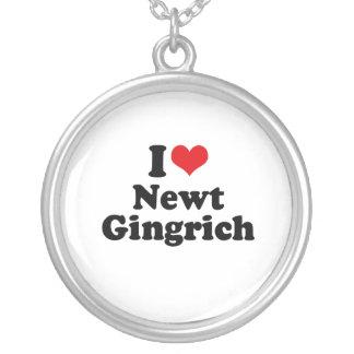 I LOVE NEWT GINGRICH PENDANT