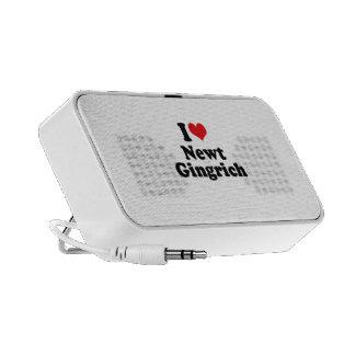 I LOVE NEWT GINGRICH MP3 SPEAKER