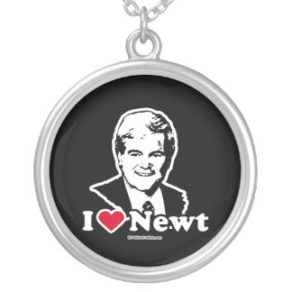 I Love Newt Personalized Necklace
