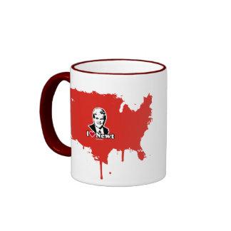 I Love Newt Ringer Coffee Mug