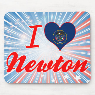 I Love Newton, Utah Mouse Pad