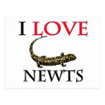 I Love Newts Postcards