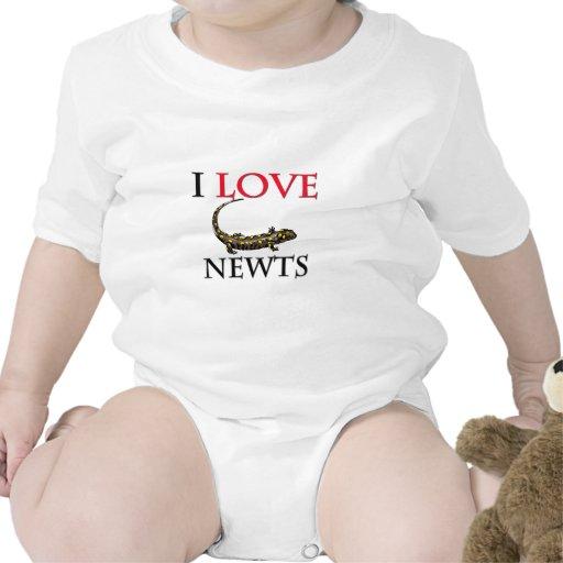 I Love Newts Shirt