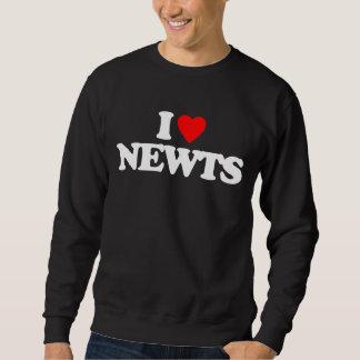 I LOVE NEWTS SWEATSHIRT